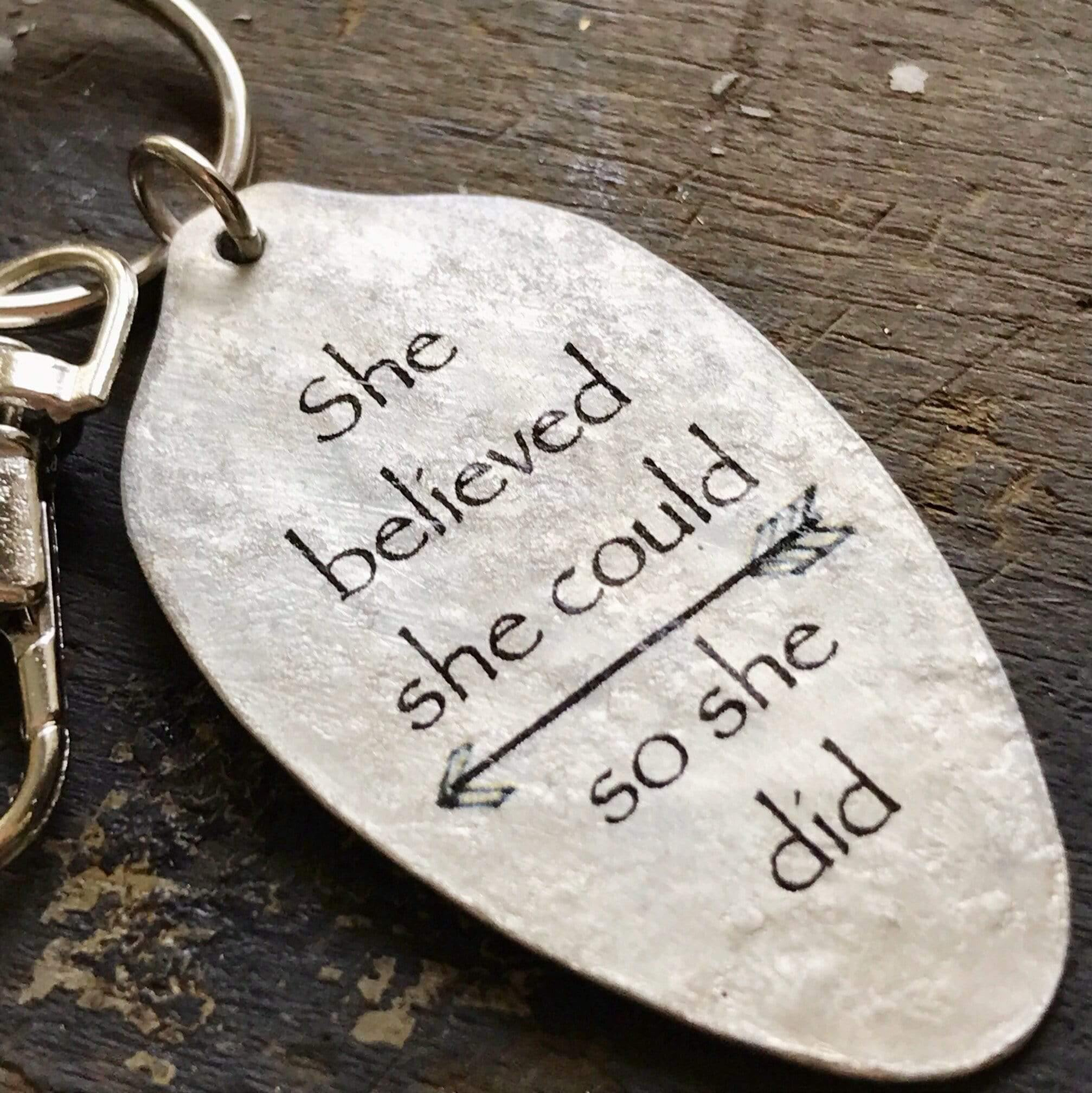 She believed she could keychain kyleemae designs