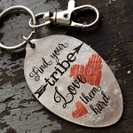 find your tribe keychain kyleemae designs