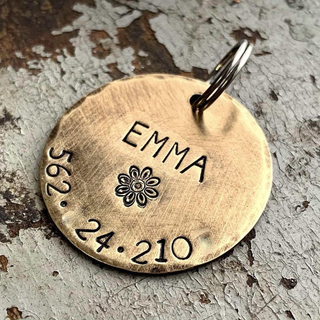Custom Dog Tag by Kyleemae Designs