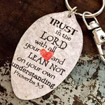 proverbs 3 5 kyleemae designs spoon keychain