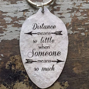 kyleemae designs keychain distance means little