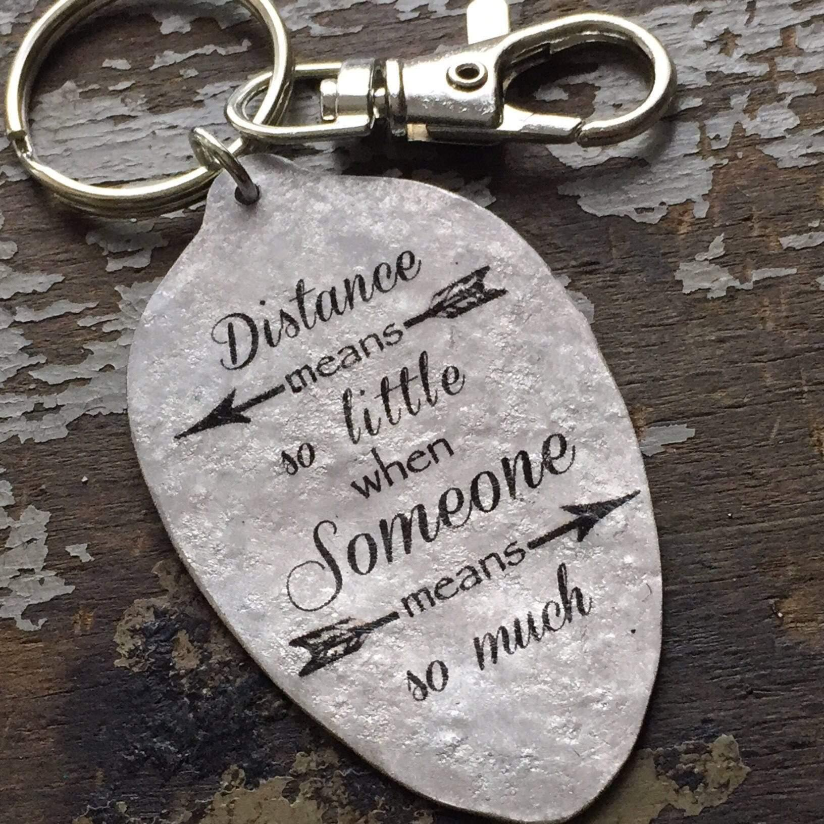 distance means little keychain kyleemae designs