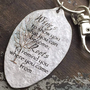 wings to show you keychain kyleemae designs