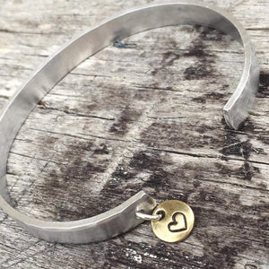 hand stamped mom bracelet kyleemae designs