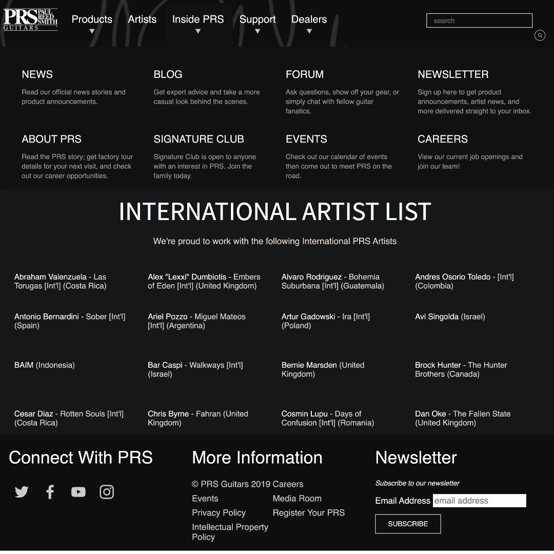 Gitaris Indonesia Masuk di Jajaran International Artist PRS Guitar !