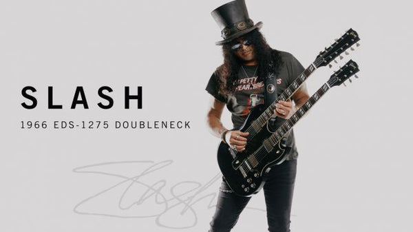 Gibson releases the Custom Shop Slash 1966 EDS-1275 Doubleneck