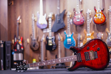 PRS SE Custom 24 Floyd Rose in fire red PRS SE - HIENDGUITAR.COM