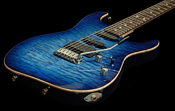Tom Anderson Drop Top  Maple Top on Alder  Jack's Pacific Blue Burst sn G160600