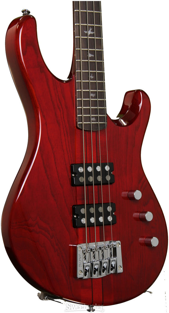 prs-se-kingfisher-bass-scarlet-red indonesia