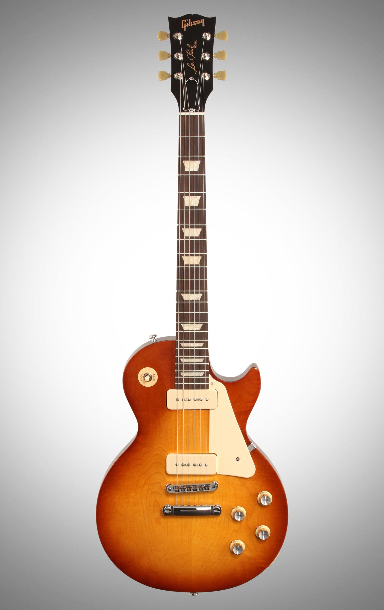 Gibson 2016 Les Paul '60s Tribute T Electric Guitar (with Gig Bag), Honeyburst Gibson - HIENDGUITAR.COM