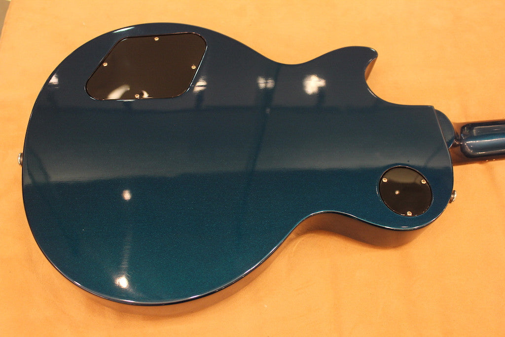 GIBSON Lp studio pro plain top 2014 teal blue candy Gibson - HIENDGUITAR.COM