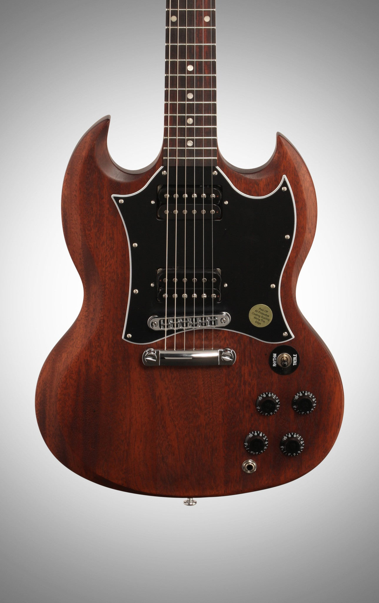 Gibson 2016 SG Faded T Electric Guitar (with Gig Bag), Worn Brown - HIENDGUITAR   Gibson gibson2016
