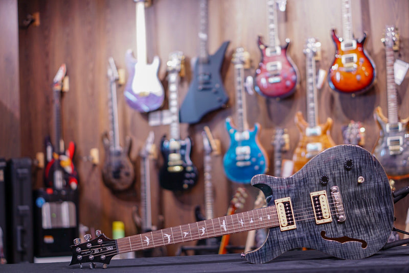 PRS SE Custom 22 Semi-Hollow 2016 Grey Black