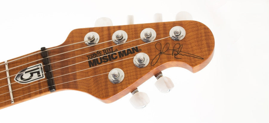 Music Man JP15 BFR 6 - Blueberry Burst Ernie Ball Music Man Autographed Limited Edition - HIENDGUITAR   Musicman GUITAR