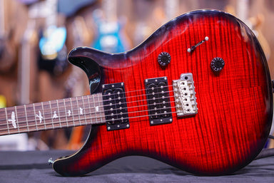 PRS SE Custom 24 in fire red burst PRS - HIENDGUITAR.COM