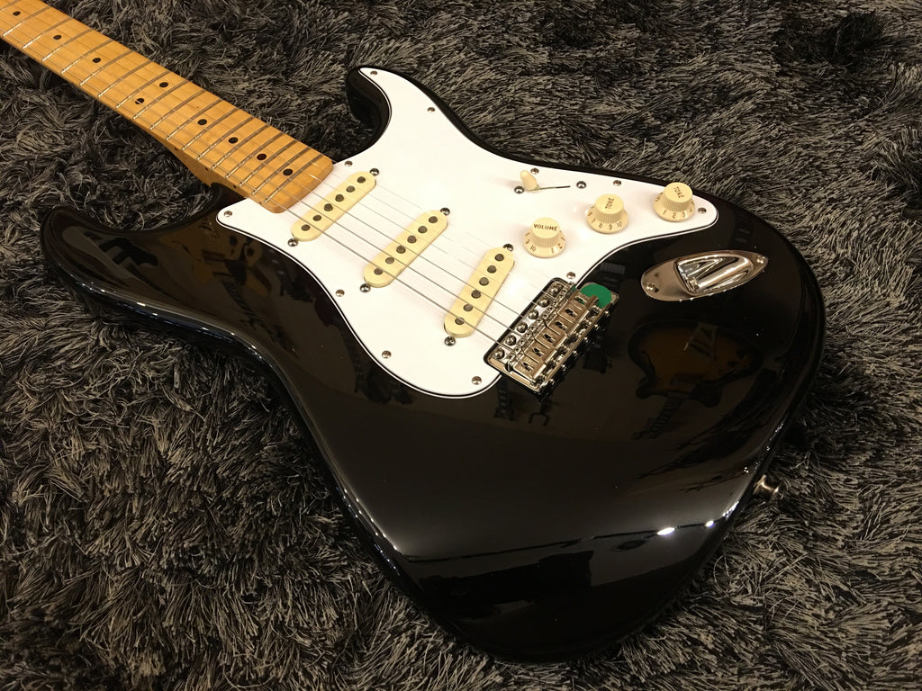 Fender Jimi Hendrix stratocaster Black, Maple