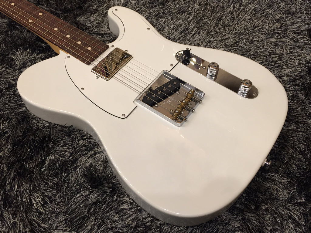 Suhr Classic T Pro Guitar - Alder, Olympic White, HB