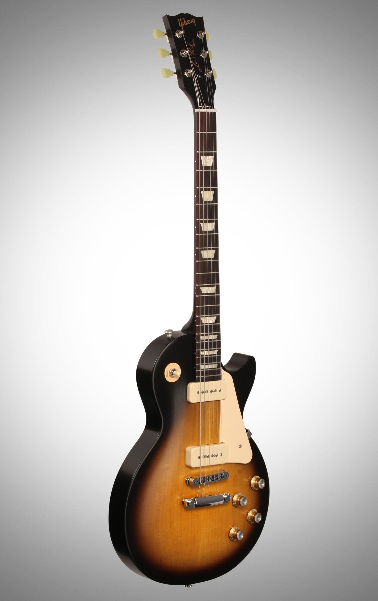 Gibson 2016 Les Paul '60s Tribute T Electric Guitar (with Gig Bag), Vintage Sunburst Gibson - HIENDGUITAR.COM