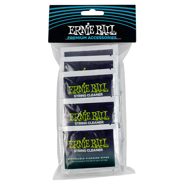 Ernie Ball Wonder Wipes String Cleaner 20 Pack Ernieball - HIENDGUITAR.COM