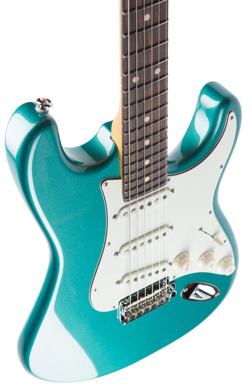 Suhr Classic Pro SSS Guitar - Sherwood green, Rosewood - HIENDGUITAR   SUHR GUITAR