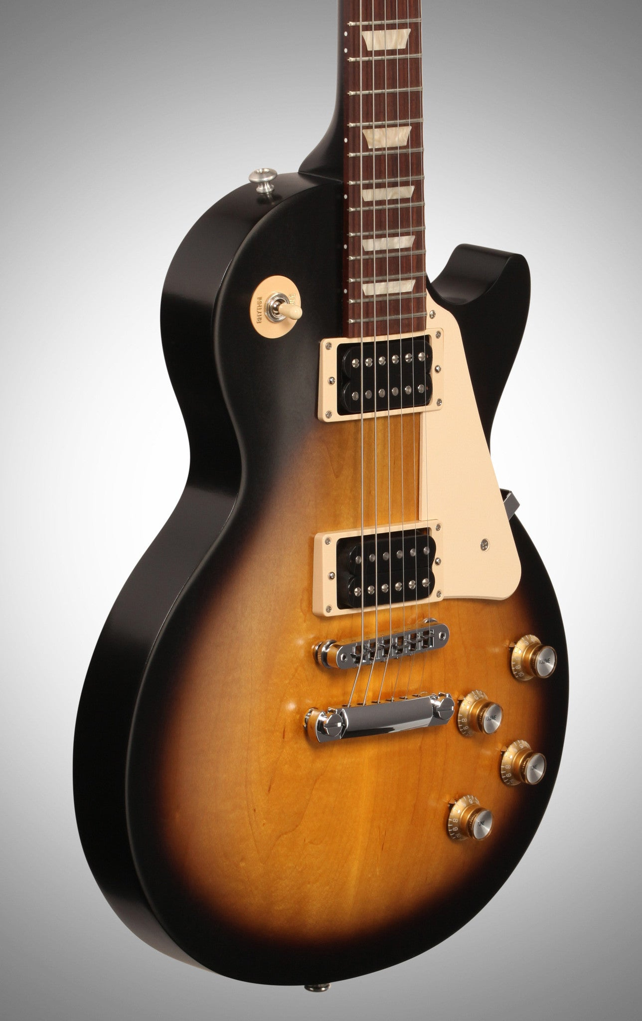 Gibson 2016 Les Paul '50s Tribute T Electric Guitar (with Gig Bag), Vintage Sunburst - HIENDGUITAR   Gibson gibson2016