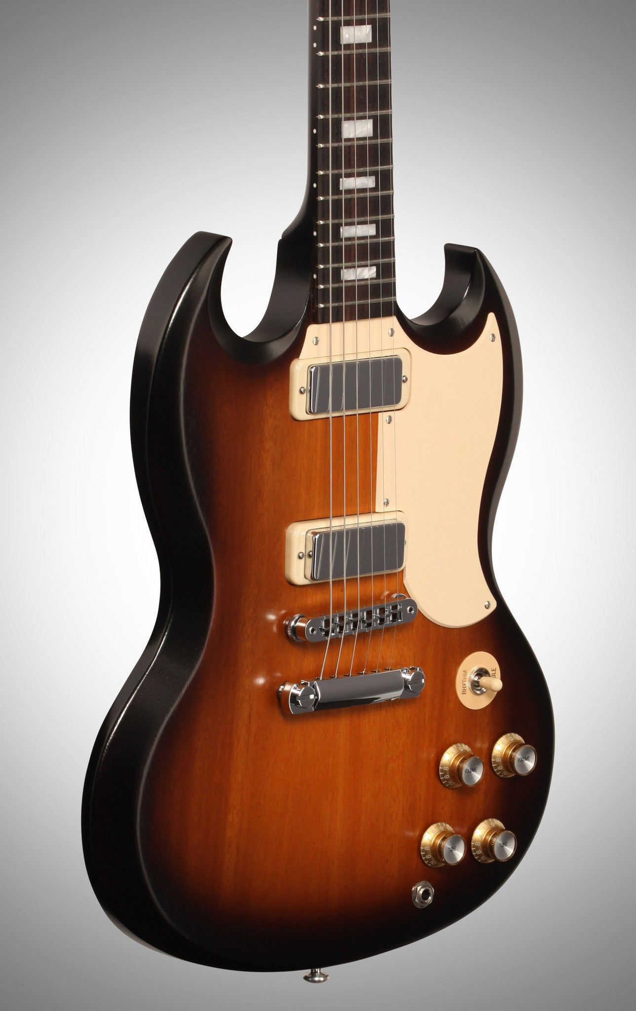 Gibson 2016 SG Special T Electric Guitar (with Gig Bag), Satin Vintage Sunburst - HIENDGUITAR   Gibson gibson2016
