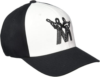 Ernie Ball Small Vintage Black with White Front and Black Music Man Logo Hat Ernieball - HIENDGUITAR.COM
