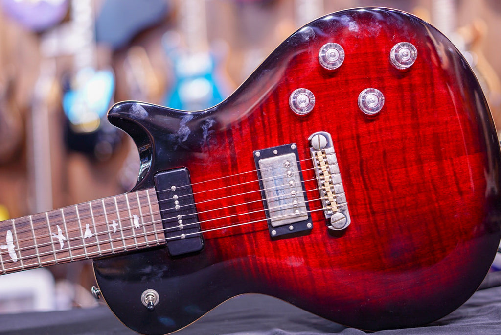 PRS SE Chris Robertson in Fire Red Burst 2018
