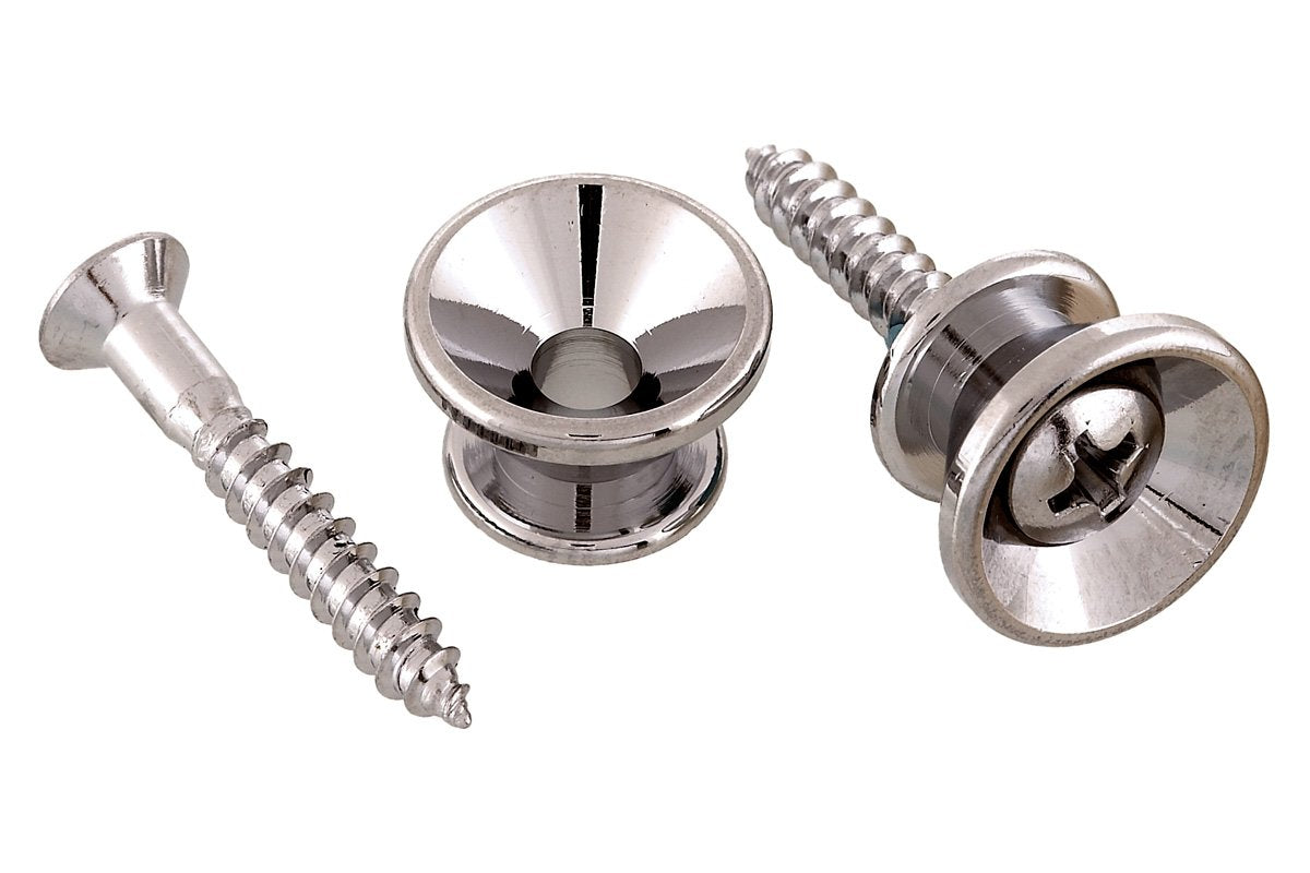 AP-0670 Gotoh Strap Buttons KMS SHOKAI CO., LTD. Nickel / Standard - HIENDGUITAR.COM