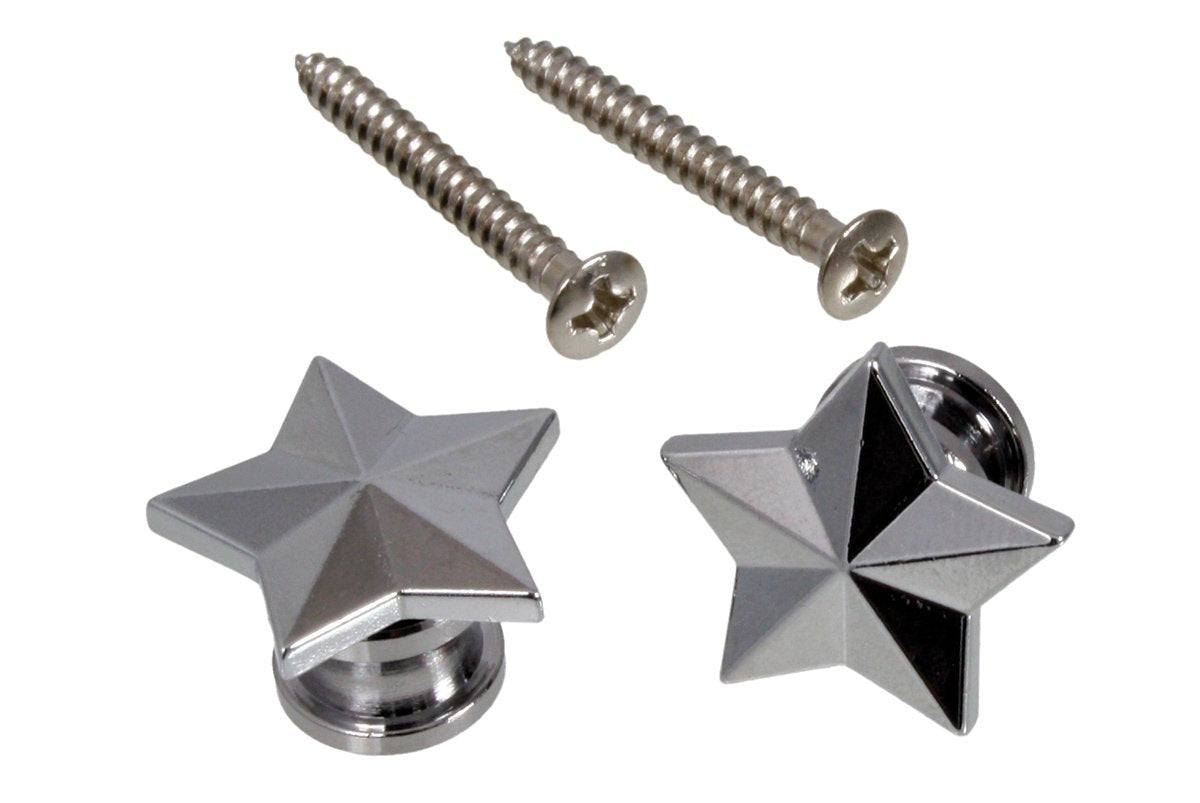 AP-6678 Star Strap Buttons GROVER MUSICAL PRODUCTS, INC. - HIENDGUITAR.COM