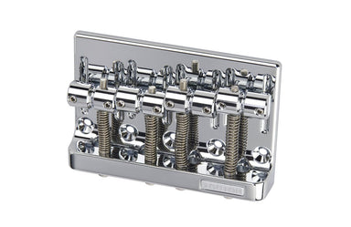 BB-0356 Gotoh 4-String Bass Bridge KMS SHOKAI CO., LTD. Chrome - HIENDGUITAR.COM