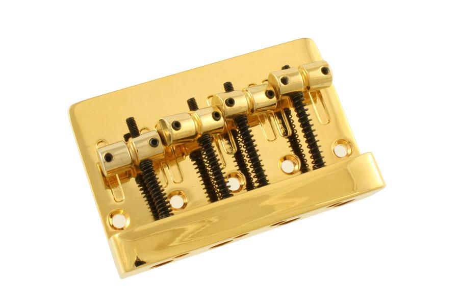 BB-3410 Economy Heavy Duty Bass Bridge DAE HUNG INTERNATIONAL COMPANY LTD Gold - HIENDGUITAR.COM