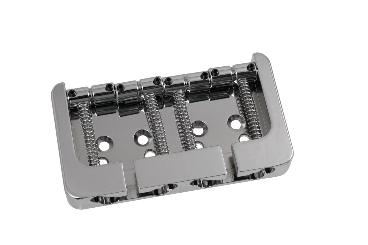 BB-3415 Hipshot B-style Bass Bridge HIPSHOT PRODUCTS Chrome - HIENDGUITAR.COM