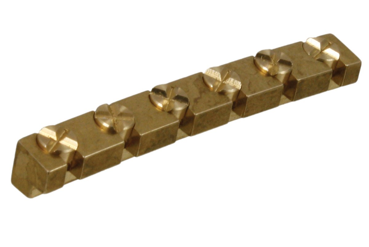 BN-0887 ABM 6220 Height Adjustable Brass Nut for Fender® ABM (JOWO BERLINER) - HIENDGUITAR.COM