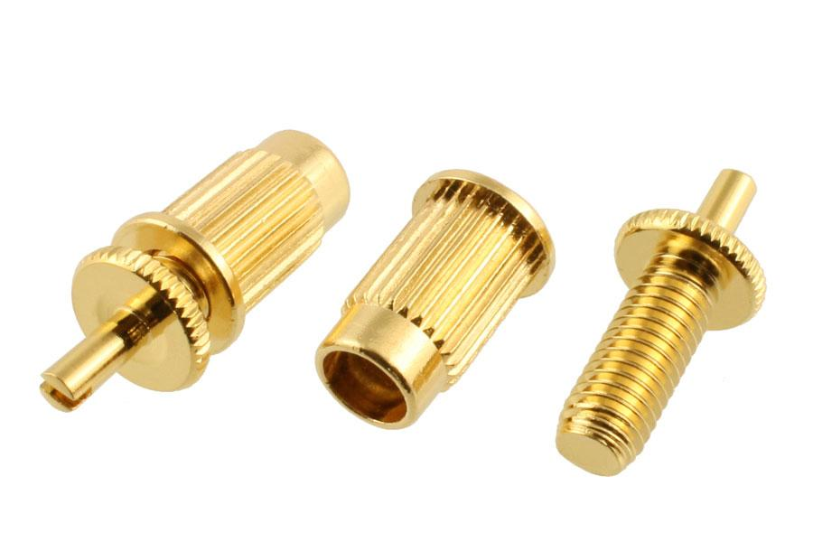 BP-0392 Adapter Studs for M8 Anchors BOOHEUNG PRECISION CO., LTD Gold - HIENDGUITAR.COM