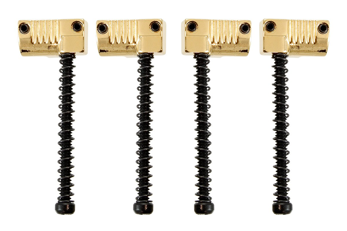 BP-2071 Grooved Saddles for Omega Bass® and Badass Bass Bridge HANCHANG CO., LTD. Gold - HIENDGUITAR.COM