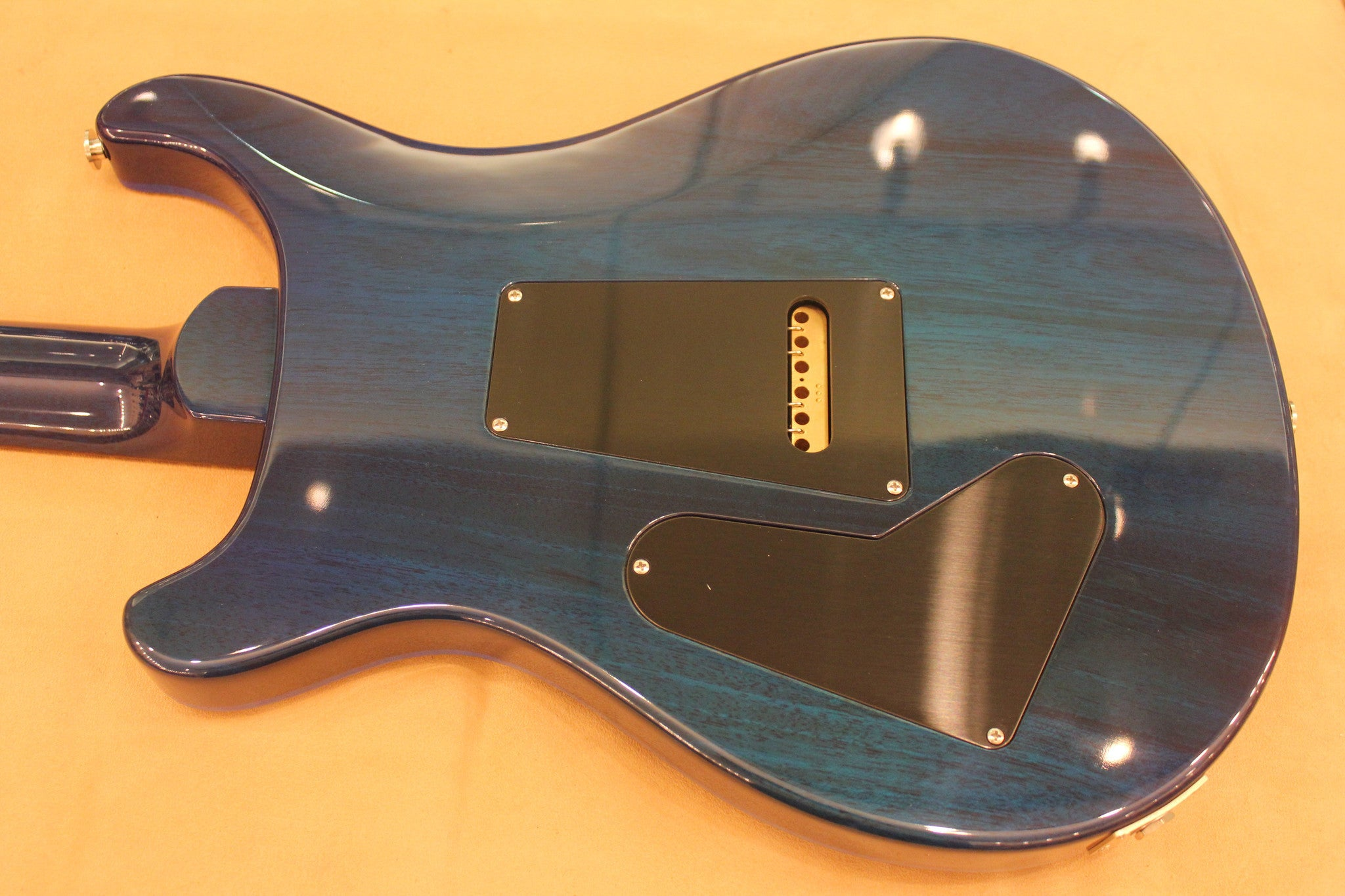 PRS CUSTOM 24 THIN CUSTOM COLOR FADED BLUE BURST SN214974 PRS - HIENDGUITAR.COM