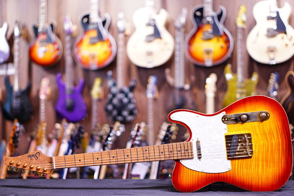 Suhr Classic T Deluxe aged cherry burst JS0K0H