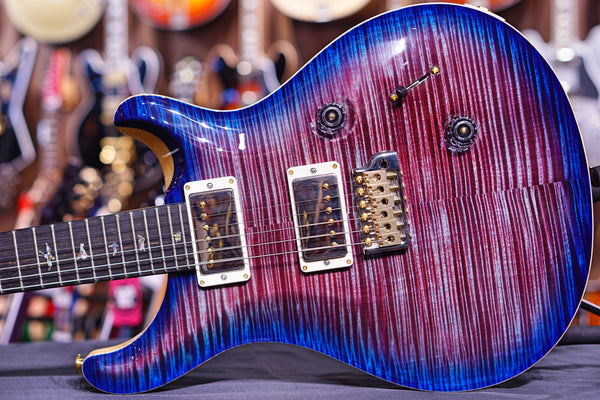 PRS Custom 24 hiend spec violet blue burst 10 top 190277476