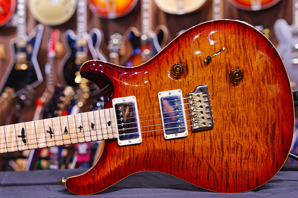 PRS Custom 24 hiend spec dark cherry sunburst 190277932