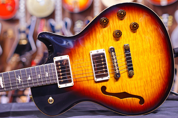 PRS McCarty 594 Singlecut Semi-Hollow 10-Top Limited Edition Tri Color Burst 190272256