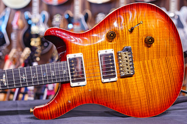 PRS Custom 24 dark cherry sunburst 190278739 - HIENDGUITAR.COM