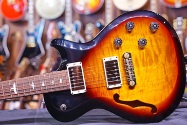 PRS S2 Singlecut Semi-Hollow Tri Color Burst 19 S2037892 - HIENDGUITAR.COM