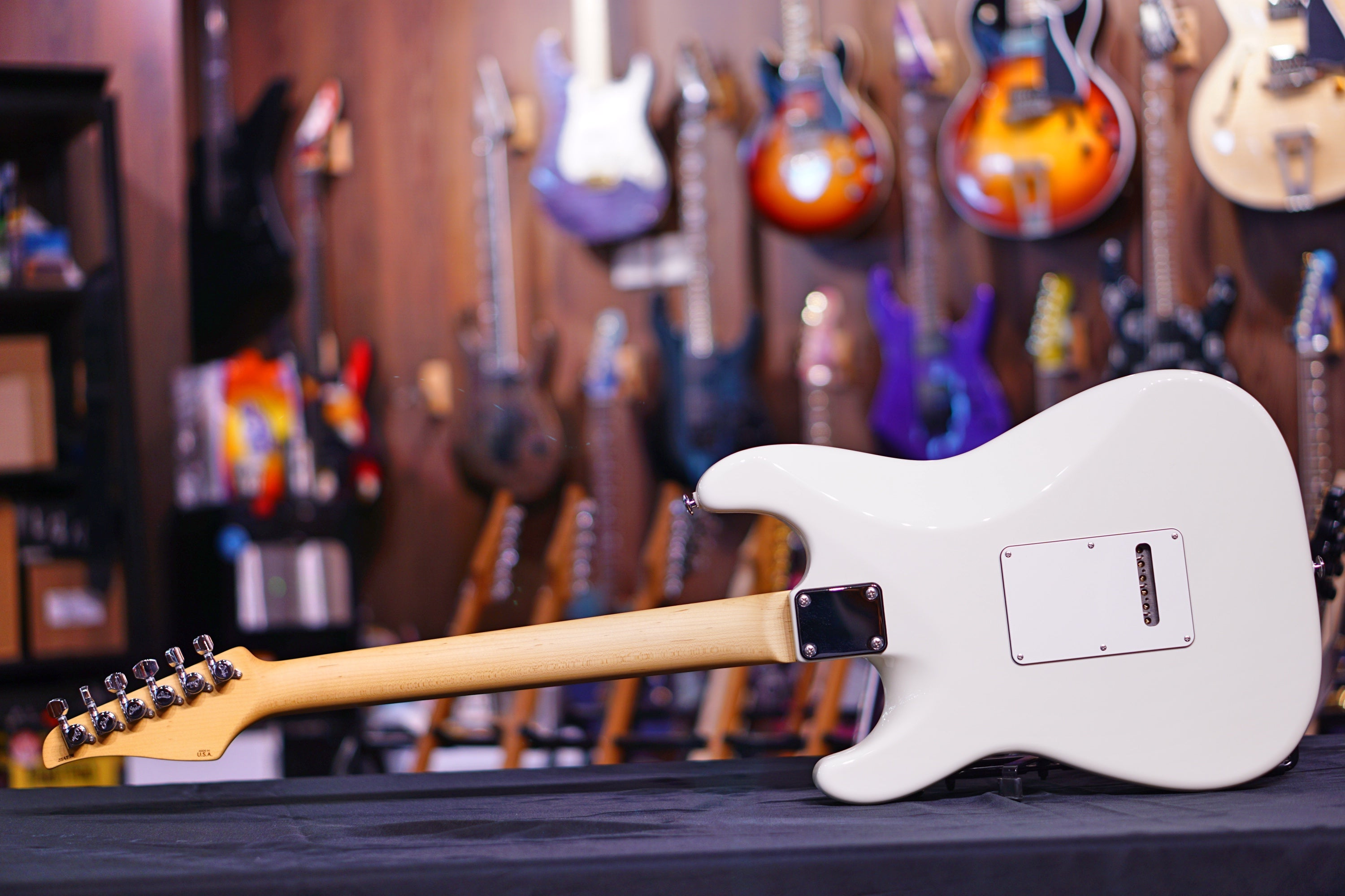 Suhr Classic Pro Olympic White Js4F9W - HIENDGUITAR   SUHR GUITAR