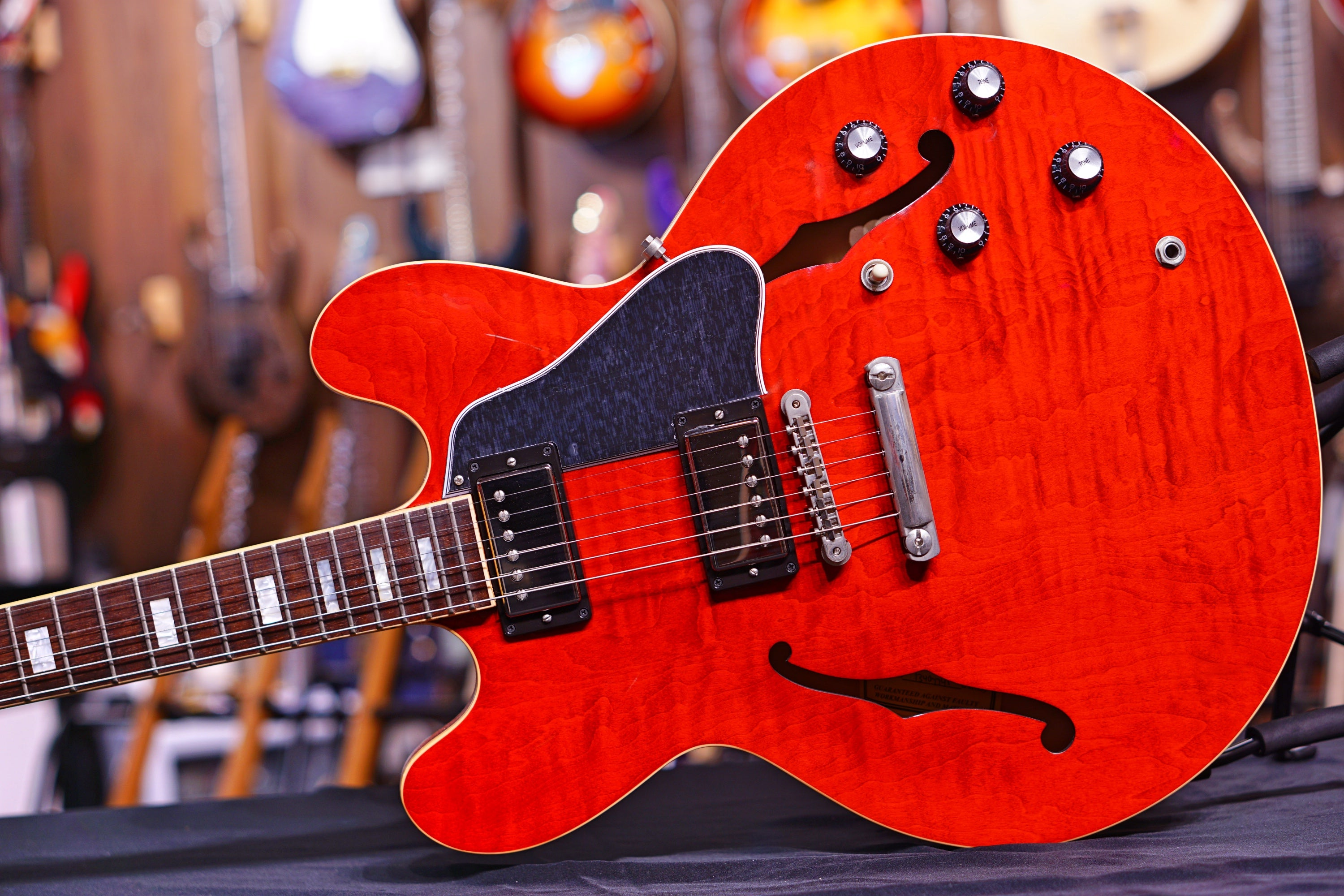 Gibson ES335 figured antique sixties cherry 2018 GIBSON - HIENDGUITAR.COM