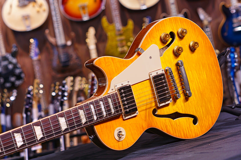 Gibson ES-Les Paul Lemon burst ESLP15LMNH1