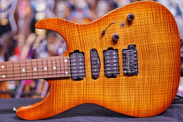 Anderson Angel  caramel maple top Honey Shaded Edge  * 02-25-19A *