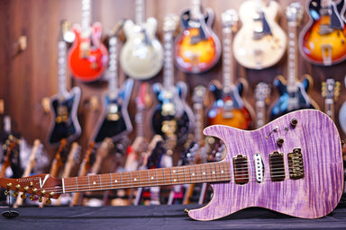 Tom Anderson Drop Top * 04-02-19A * Natural Purple HIENDGUITAR.COM - HIENDGUITAR.COM