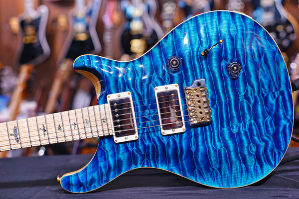 PRS Custom 24 2019 Aquamarine wood library 190270070