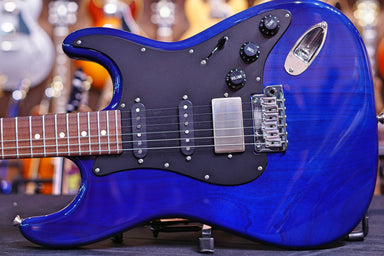 Tom Anderson Icon Classic Transparent Light Midnight Blue 06-30-19P Anderson - HIENDGUITAR.COM